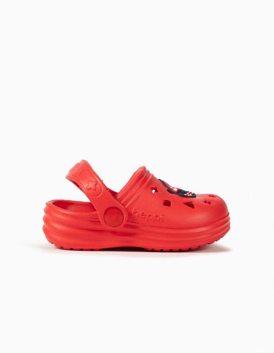 Sandálias Clogs para Bebé Menino 'Beppi', Vermelho