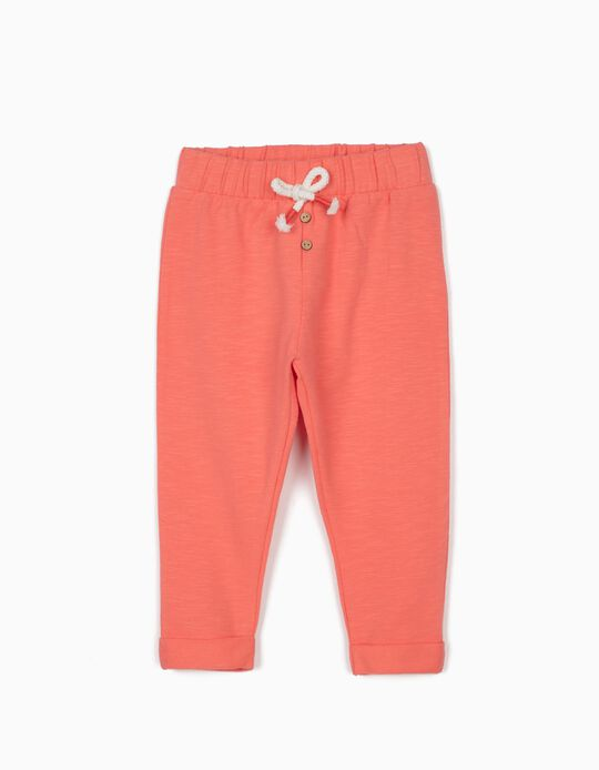 Joggers for Baby Girls, Pink