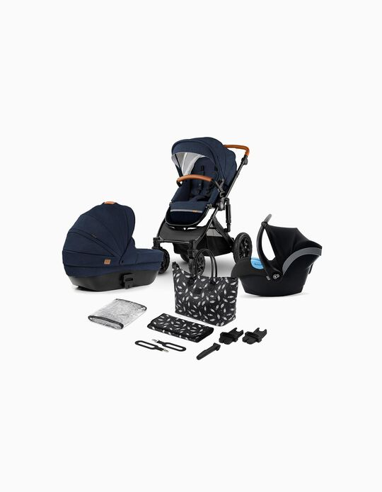 Trio Prime 2020 Travel System, Kinderkraft, Deep Navy