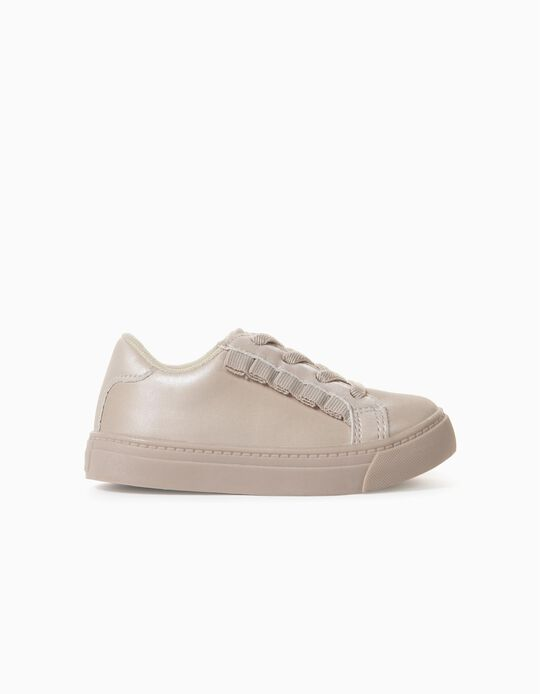 Trainers with Frills for Baby Girls 'One of a Kind', Pink