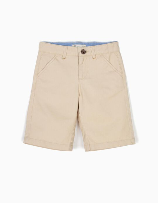 Short Niño Beige B&S