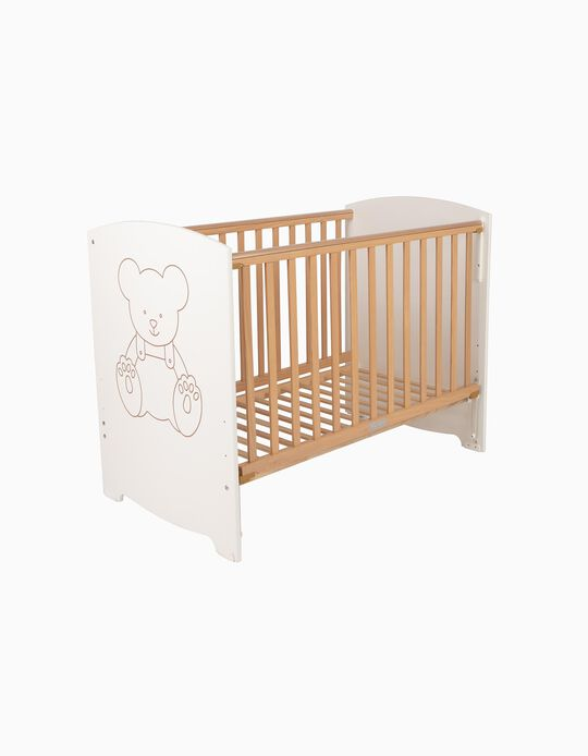 New Bear Cot 120x60 cm Zy Baby