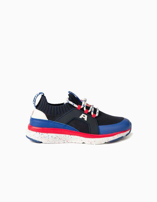 Zapatillas para Niño 'Capitán América ZY Superlight', Azul