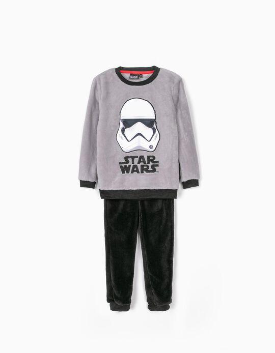 Pijama para Niño 'Star Wars', Gris/Negro