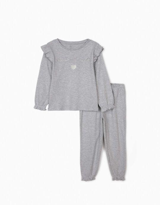 Pijama para Menina 'Sleepy', Cinza