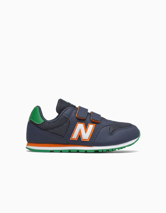 Trainers for Boys 'New Balance 500', Dark Blue