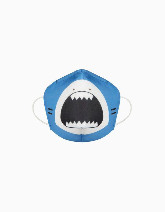 Máscara Criança 'Cotton Sense' - Nível 3, Tubarão