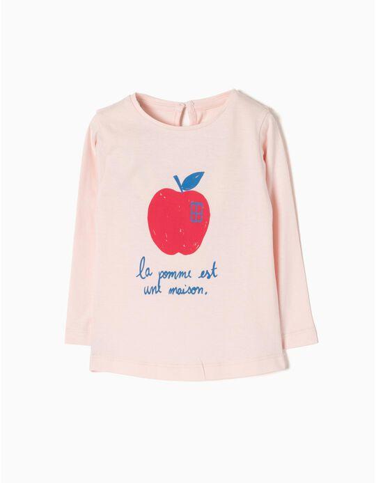 Camiseta de Manga Larga La Pomme