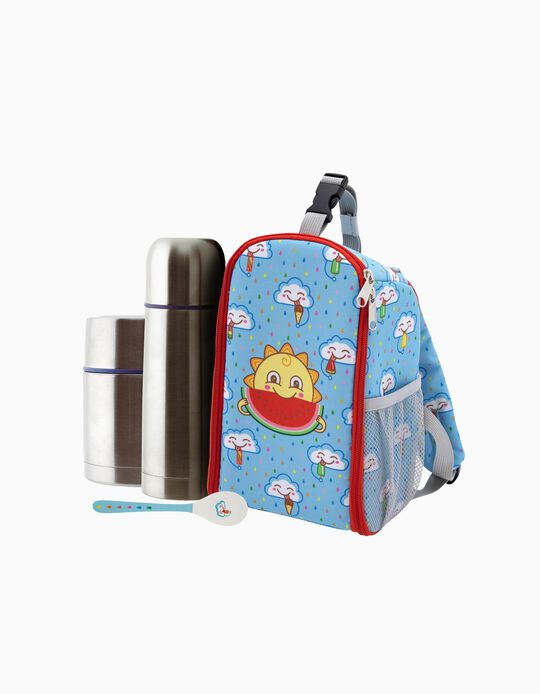 Thermos Flask & Food Carrier by Laken