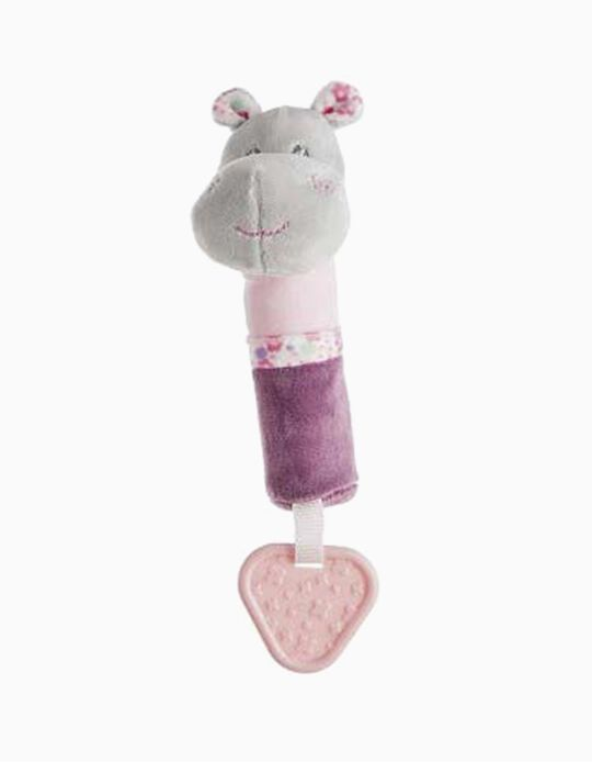 CRICRI 20CM HIPPO LITTLE KIDS ROSE
