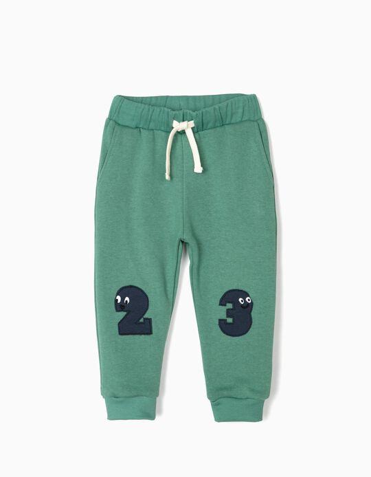 Calças de Treino para Bebé Menino '23', Verde