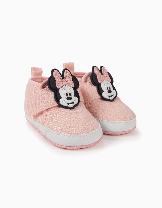 Sapatilhas para Recém-Nascida 'Minnie', Rosa