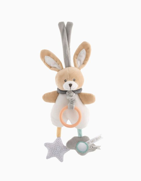 Petit lapin musical Doudou Chicco