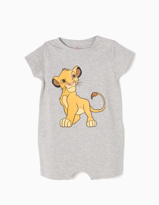 Babygrow Rei Leão Simba