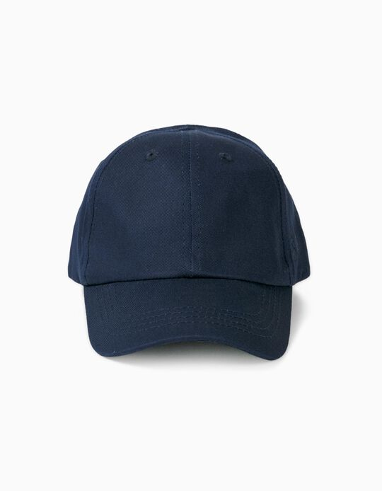 Gorra Infantil 'ZY 96', Azul Oscuro