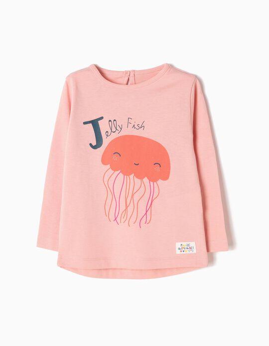 T-shirt Manga Comprida Jellyfish