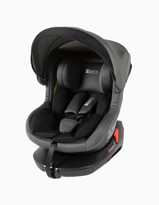 Cadeira Auto Gr 0+/1 Isofix Ursitos Grey