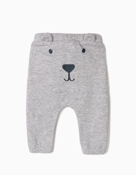 Pantalón para Recién Nacido 'Cute Bear', Gris