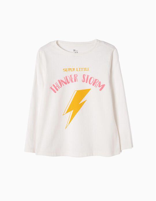 T-shirt Manga Comprida Thunder Storm
