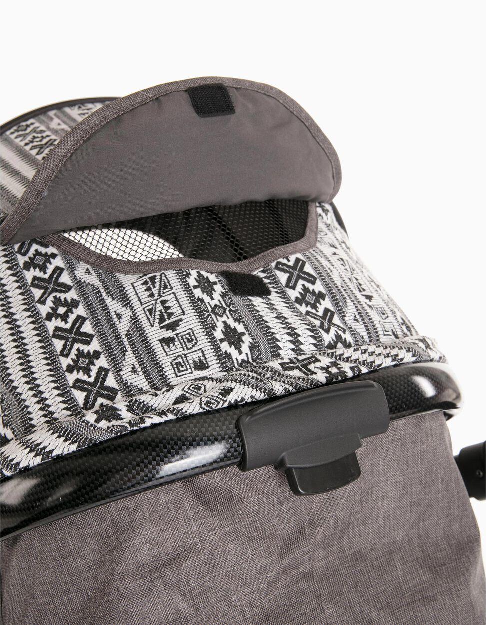 Conjunto De Rua Duo Tribe 3 Zy Safe Black/Grey