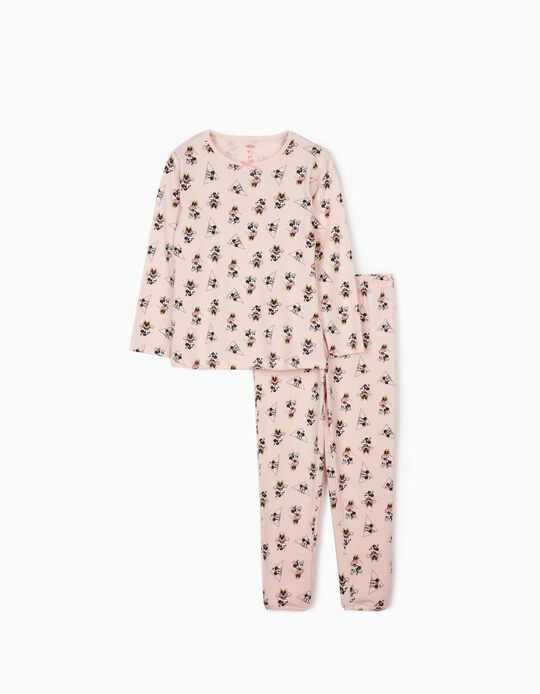 Pyjamas for Girls, 'Minnie Mouse', Pink
