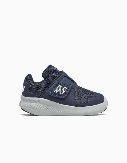 Baskets bébé garçon 'New Balance Wrap & Run', bleu foncé