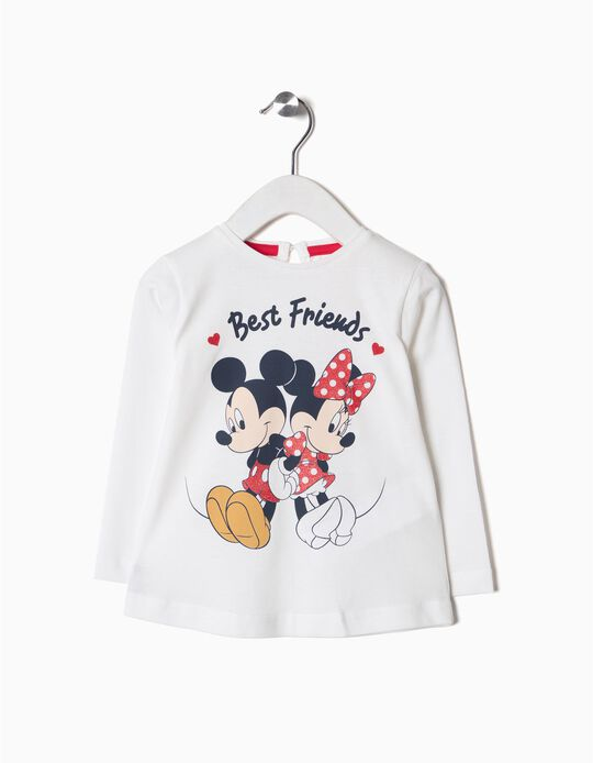 Camiseta de Manga Larga Minnie