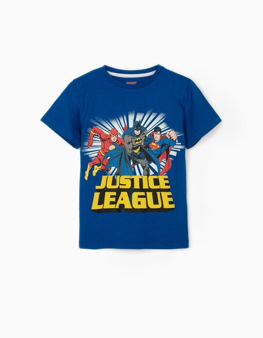 Camiseta para Niño 'La Liga de la Justicia', Azul