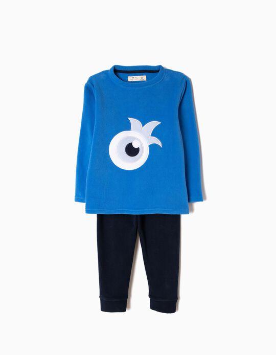 Pijama Polar Little Monster