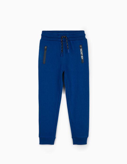 Pantalón de Chándal para Niño 'Rocket Boy', Azul