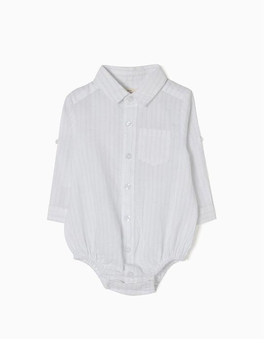 Body Camisa Algodão