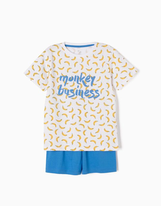 Pijama Manga Corta Monkey Business