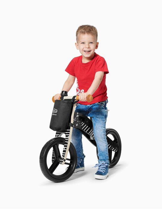 Balance Bike, Runner AC By Kinderkraft, Vintage Black