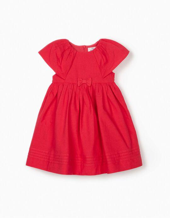 Vestido para Bebé Niña, Coral