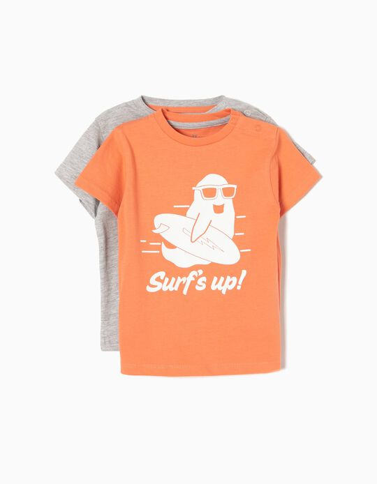 Pack 2 Camisetas Surf's Up
