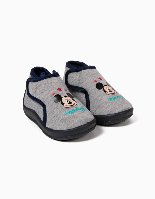 Zapatillas de Casa Gris Mickey