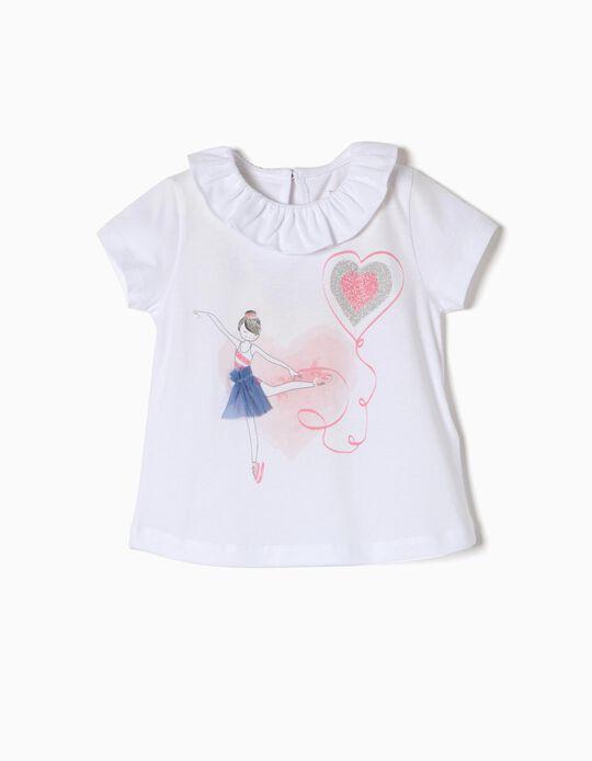Camiseta de Purpurina Bailarina