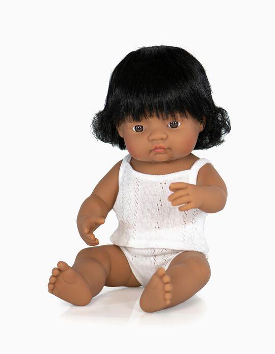 Boneca multicultural 38 cm Miniland