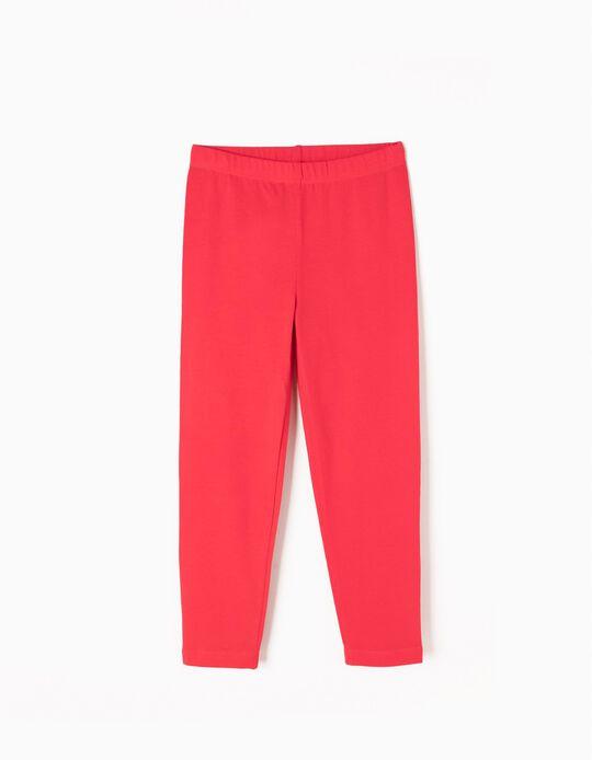Leggings Lisos Rojo