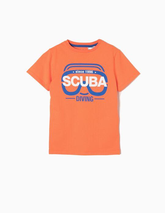 Camiseta Estampada Scuba Diving