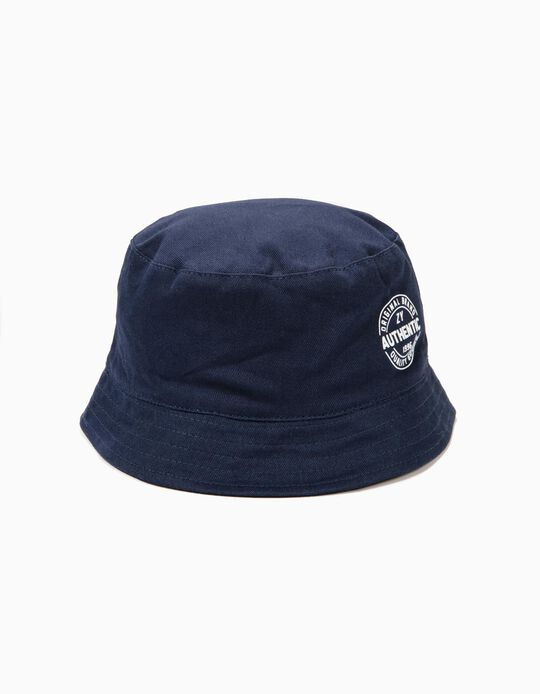 Hat for Boys 'ZY 1996', Dark Blue