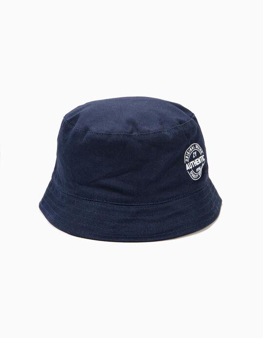 Sombrero para Niña 'ZY 1996', Azul Oscuro