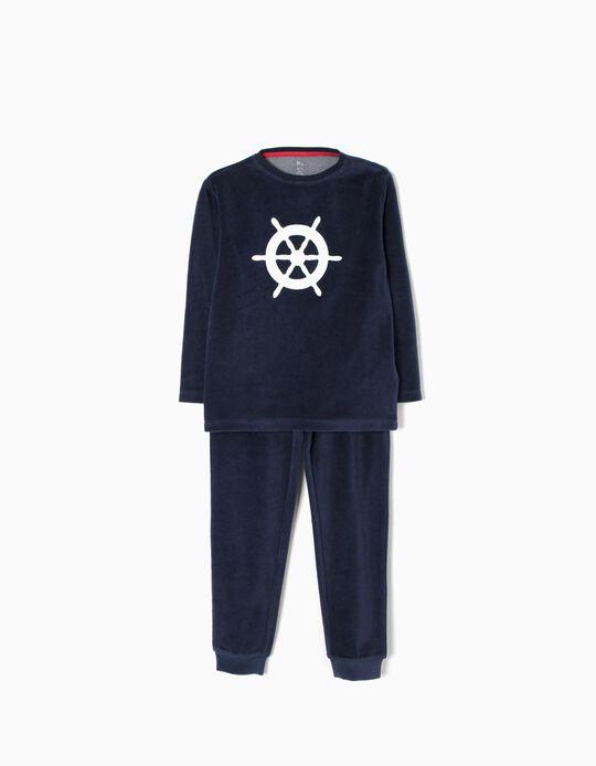 Pijama de Terciopelo Remo