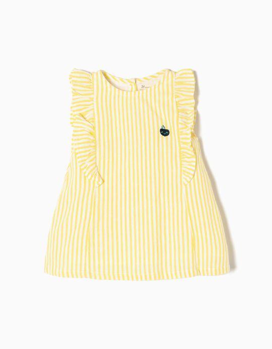 Conjunto Vestido y Short Amarillo