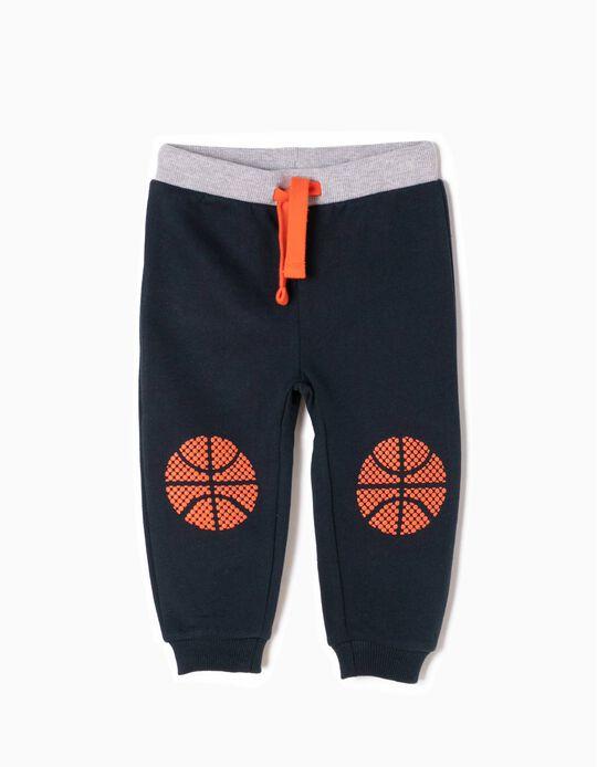 Calças de Treino Basketball Azuis