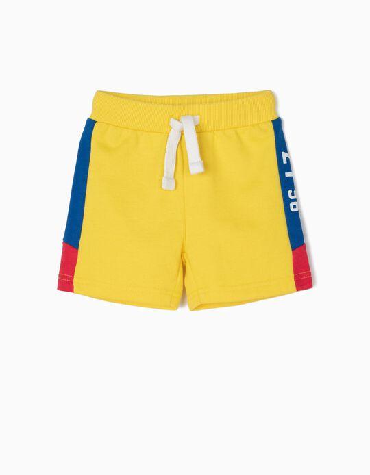 Calções de Treino para Bebé Menino 'ZY 96', Amarelo