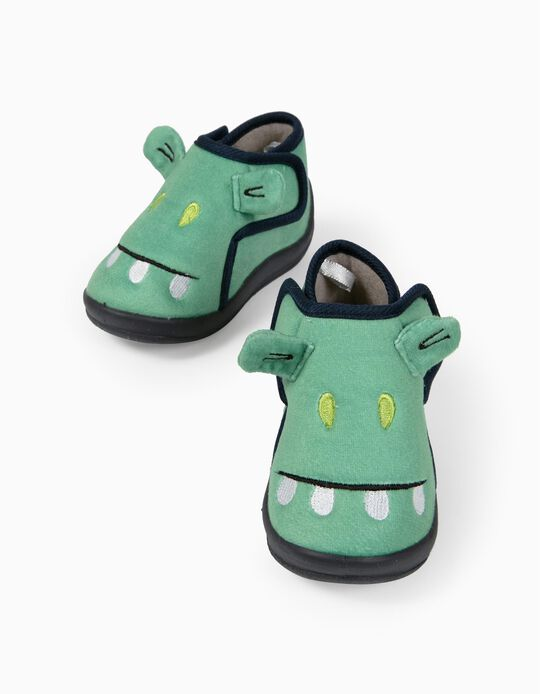 Slippers for Baby Boys, 'Croc', Green