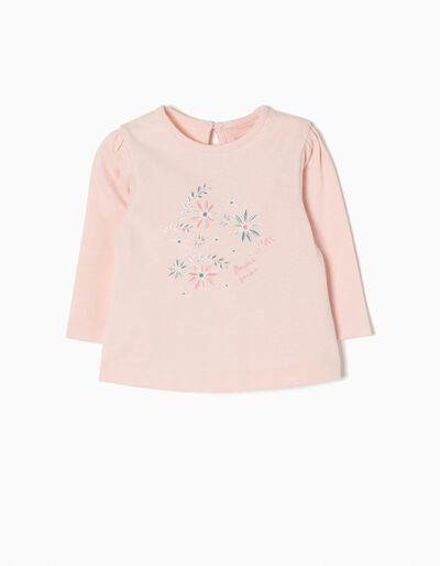 Camiseta de Manga Larga Flowers Garden