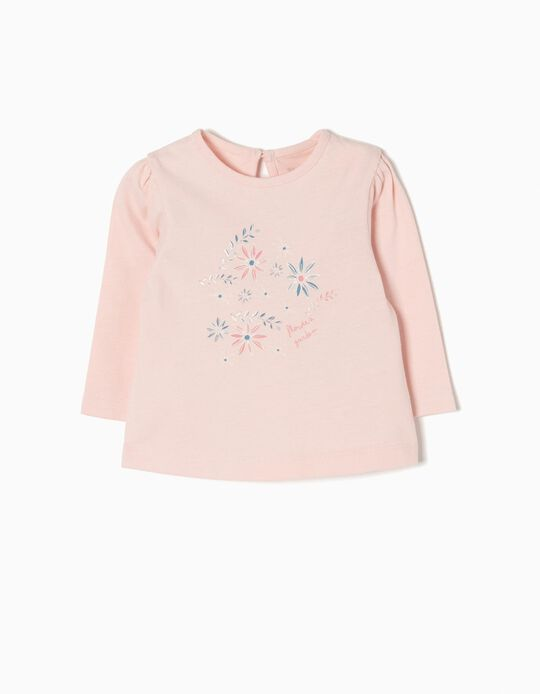 T-shirt Manga Comprida Flowers Garden