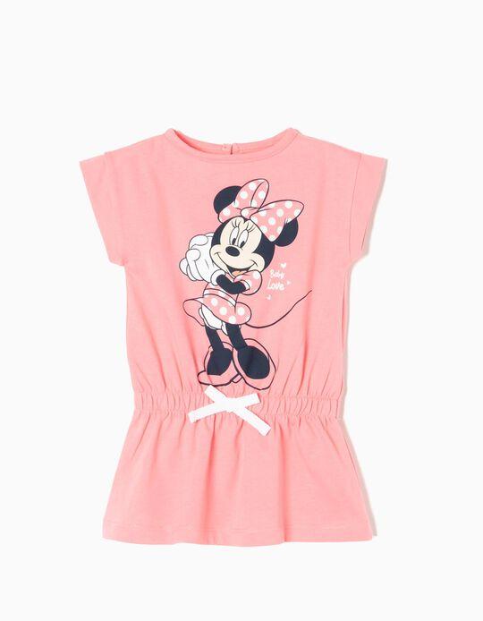 Vestido para Bebé Niña 'Minnie', Rosa